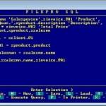 fP SQL Single User